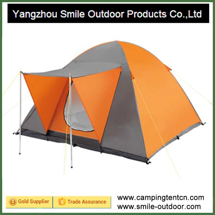 T-295 hard shell roof top round 3 person camping dome tent event