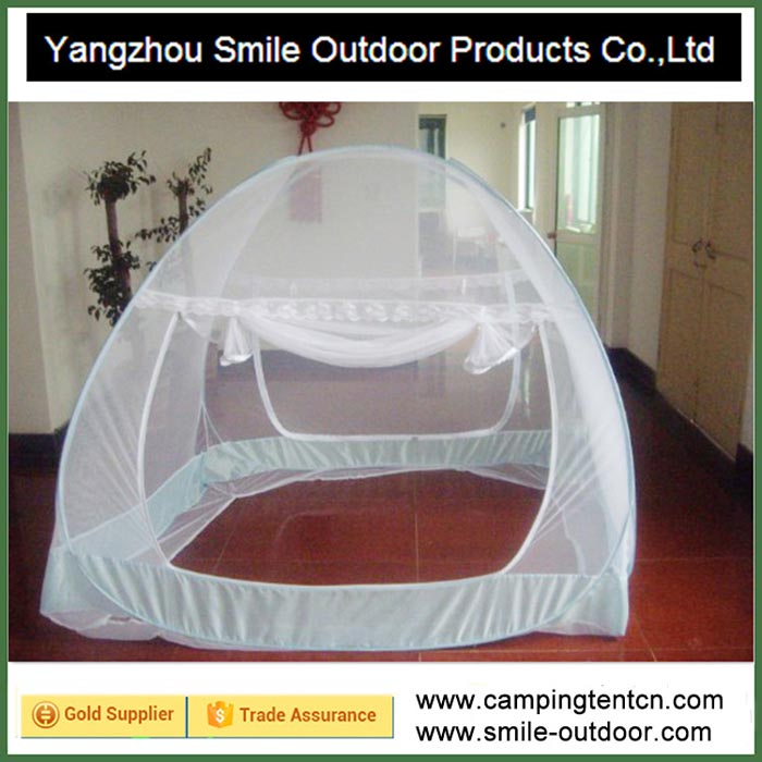 SMN001 Easy adult bed pop up mosquito net instant auto