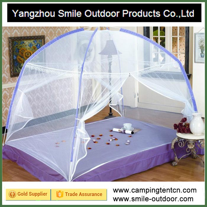 SMN007 indoor sleeping camping queen bed tent mosquito net