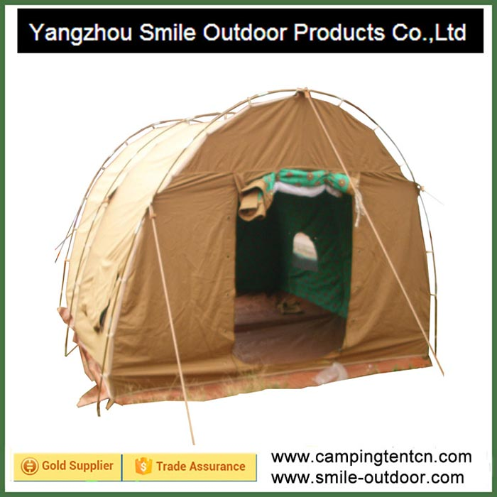 T-174 3 person pakistan camp event glamping cotton canvas waterproof tent