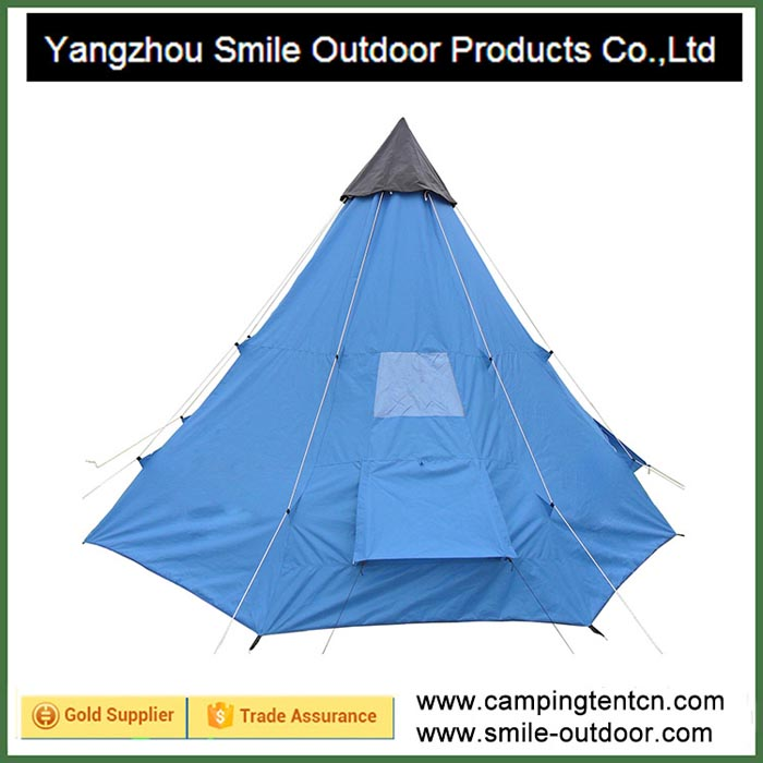 T-177 10 person backpacking camping custom outdoor teepee tent for sale