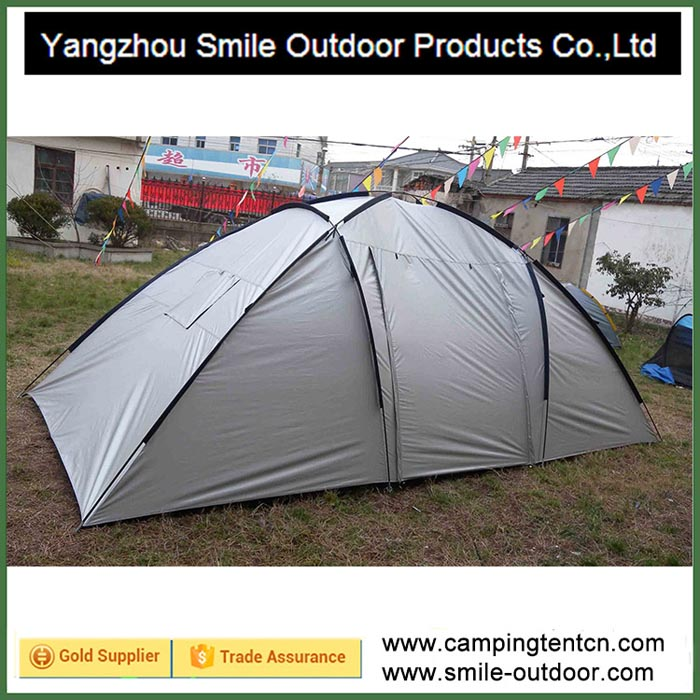 T-207 8-10 persons 2 rooms house camping custom 6x6 canopy tent