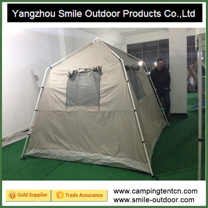 T-407 fireproof c&ing rooftop garden poly cotton tent & Dome Tent-Yangzhou Smile Outdoor Products Co.Ltd