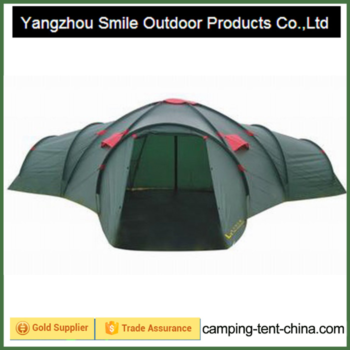T-423 family vestibules commercial connectable big tent living tent camping tent
