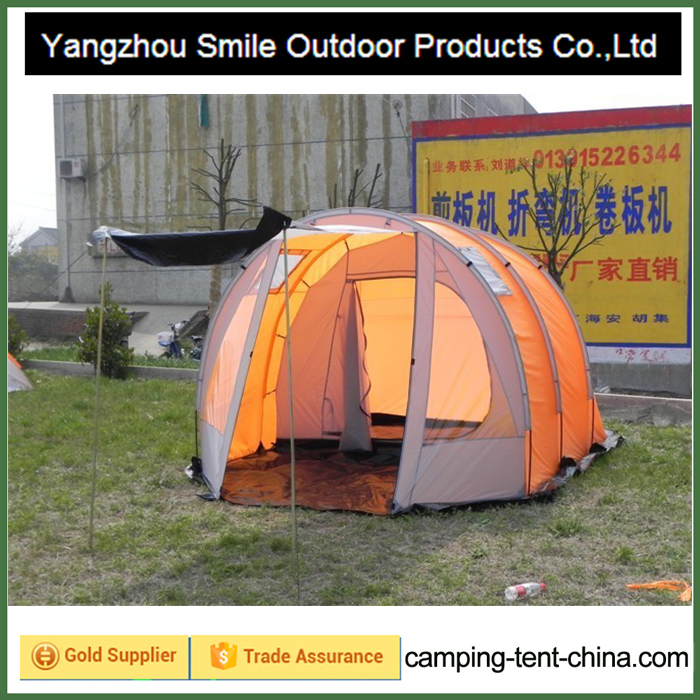 T-446 6 people tunnel family large camping wedding tent