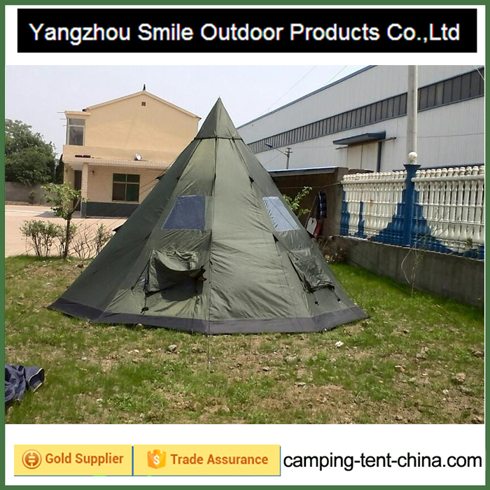 T-537 adult house teepee outdoor camping garden large mosquito tent