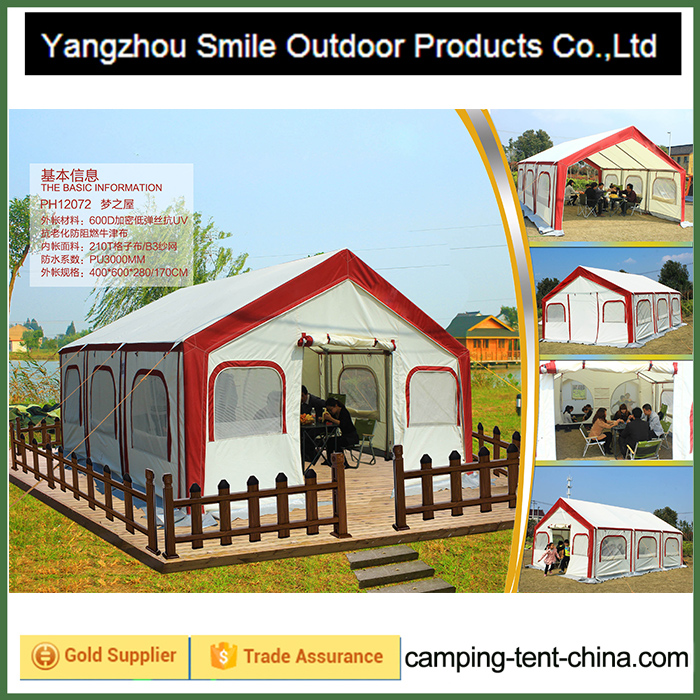 T-748 canvas pickup garden auto camping solid wall tent