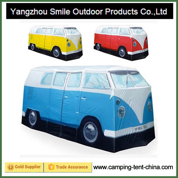 T-768 custom-made luxe camping outdoor school bus tent