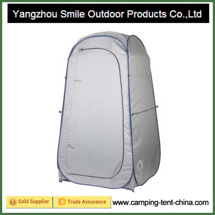 T-776 flexible steel wire camper portable popup shower tent
