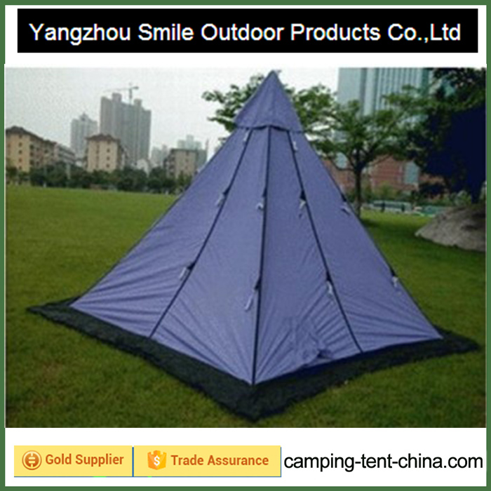 T-780 double decker chinese picnic windproof teepee tent kids