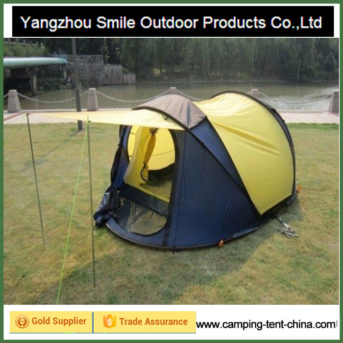 T-515 two story popup custom folding camping solar tent