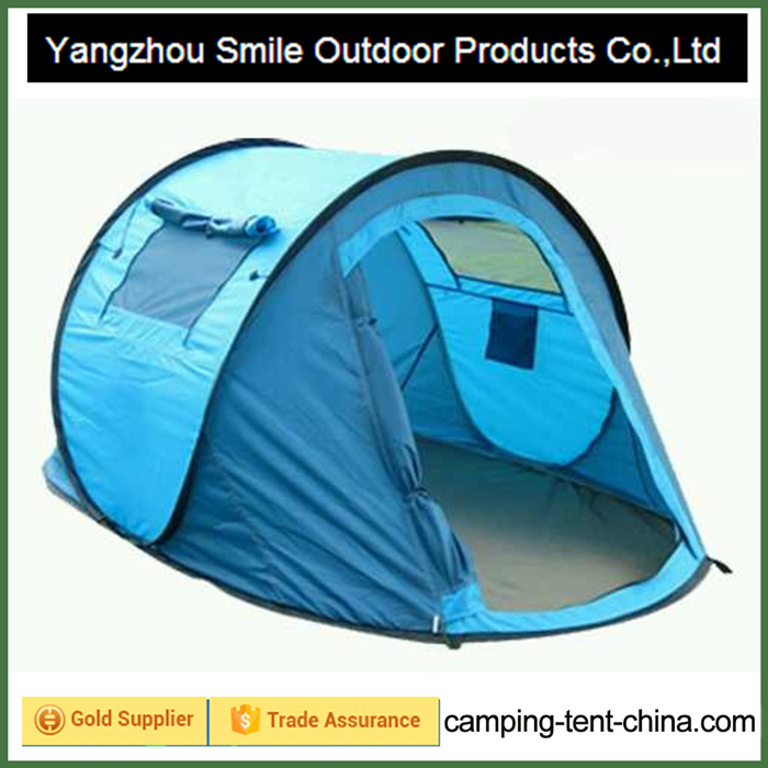 T-529 2 person waterproof glamping folding camping military pop up tent