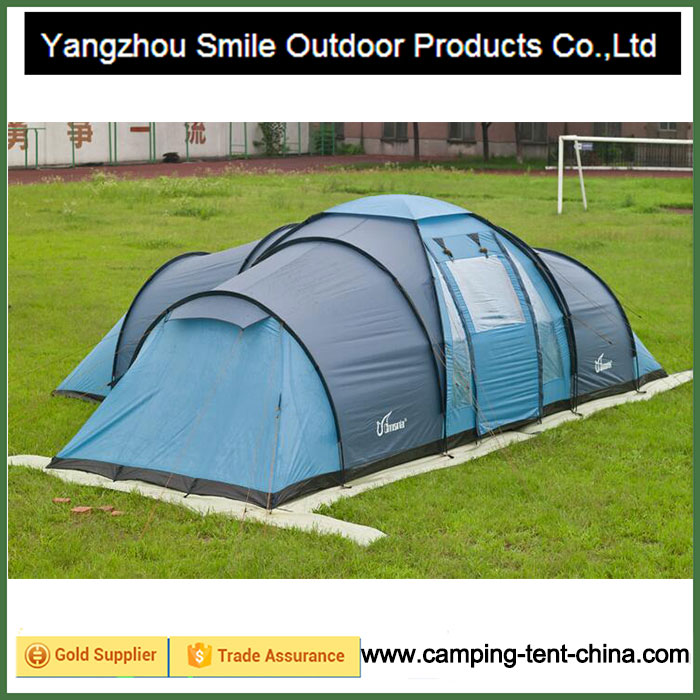 T-804 Hot sale High quality waterproof 8-10 man big family outdoor camping tent