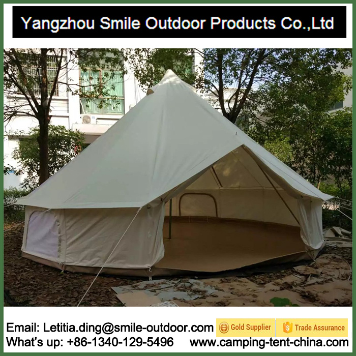 T-901 Heavy Rainproof Winterproof Oxford Cotton Teepee Canvas Bell Tent