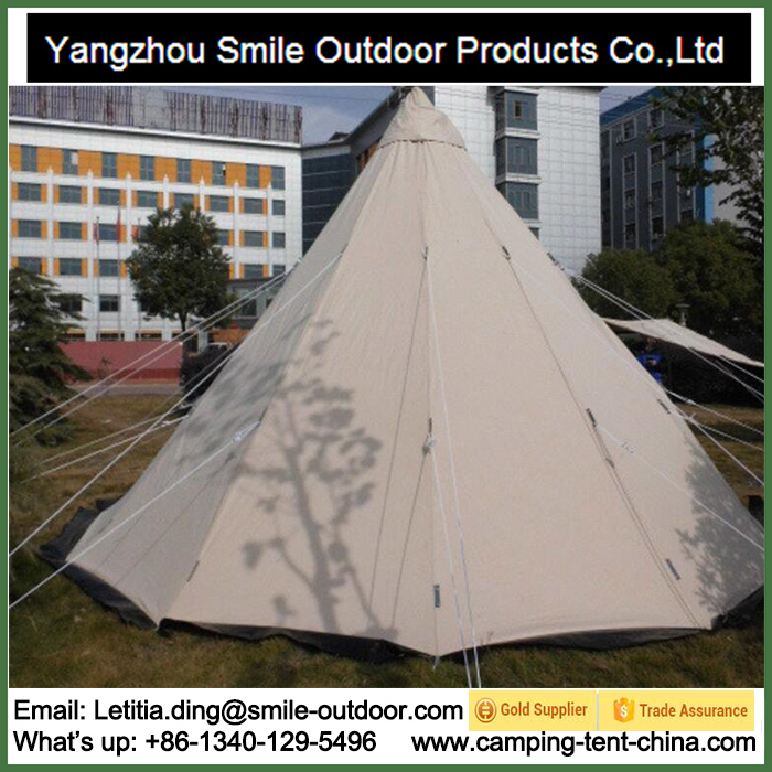 T-904 Nature Hike Winterized Refugee Waterproof Outdoor Indian Teepee Tent