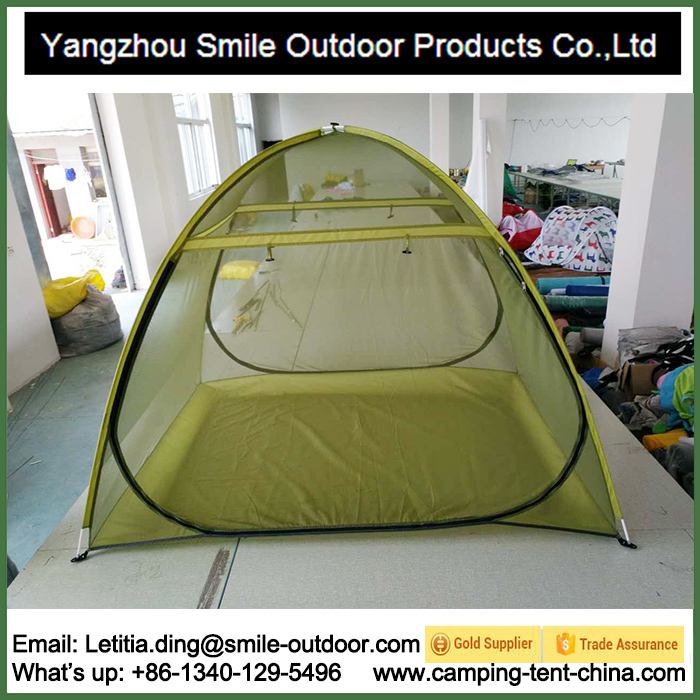 SMN012 2 person fabric floor dome sleeping mosquito net