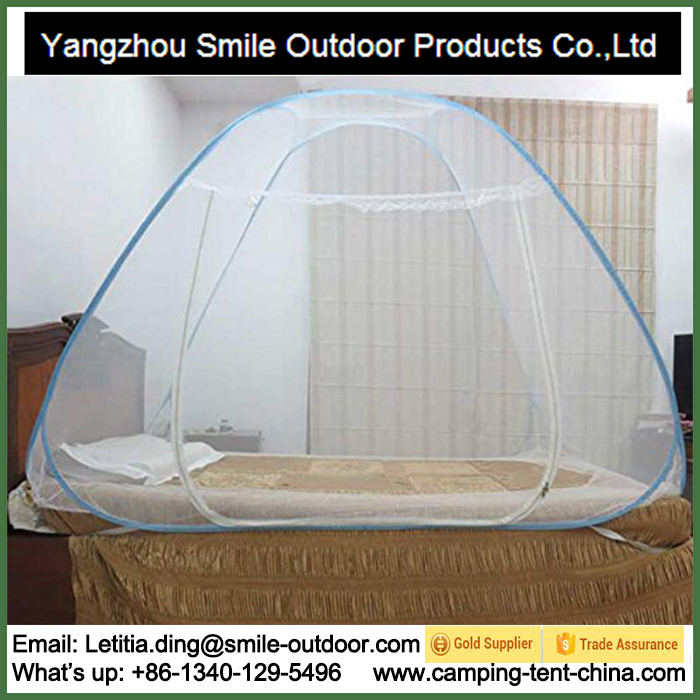 SMN014 single person bed cheapst foldable mosquito net