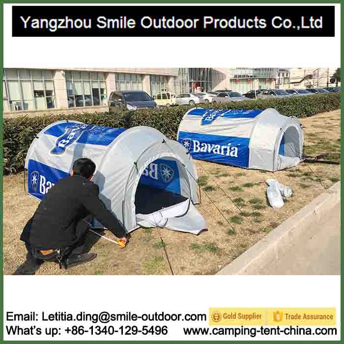 T-842 single person camping tunnel beer tent