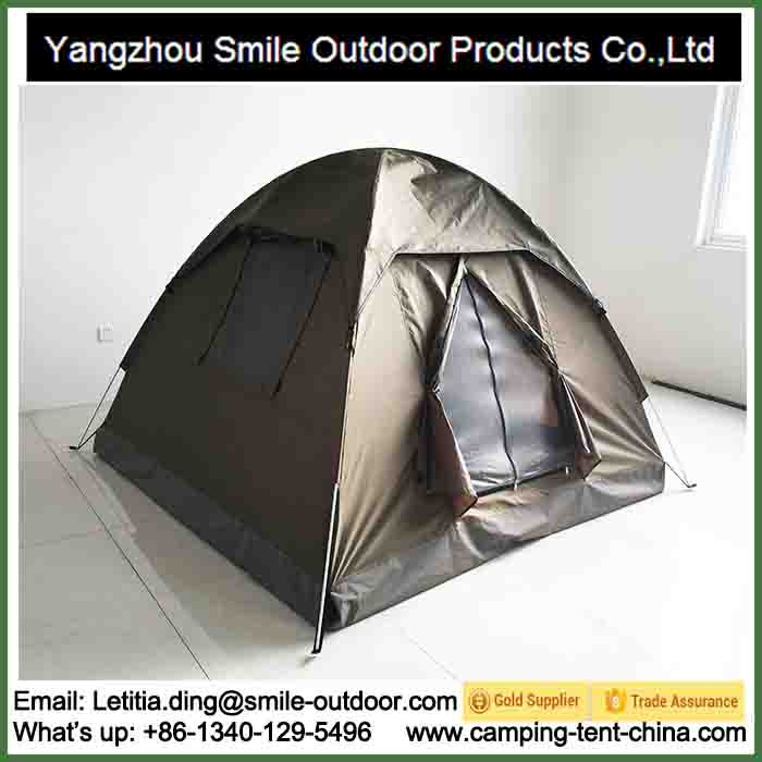T-917 windproof waterproof heavy duty canvas dome tent